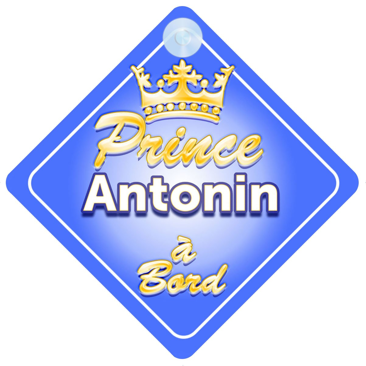 Couronne Prince Antonin Signe Pour Voiture Enfant//B/éb/é /à Bord
