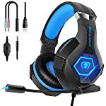 Gaming Headset with Mic for PS4 Xbox One PC,Beexcellent Noise Reduction Gaming Headphones with Stereo Bass Surround...