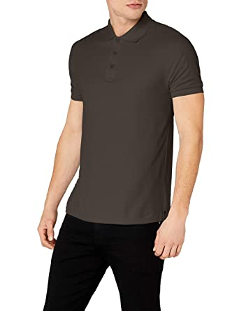 Fruit of the Loom Premium Polo del Hombre Gris Gris Claro Small ...