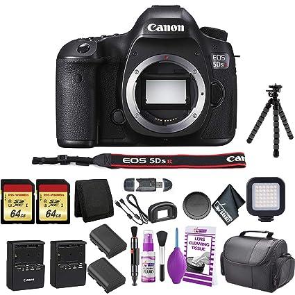 9e73b0de778d Amazon.com : Canon EOS 5DS R DSLR Camera(Body Only) Bundle with 2X ...
