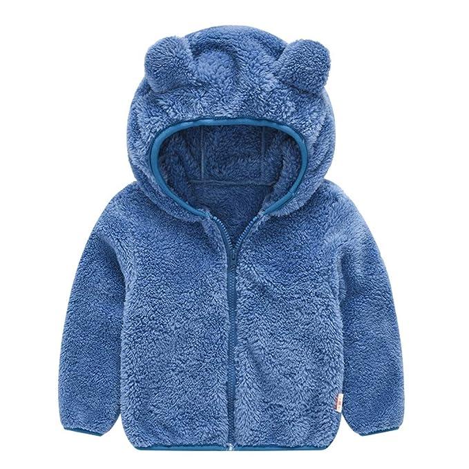Mädchen Kinder Baby Hase Ohren Winterjacke Winter Mantel Jacke Hoodie Pullover