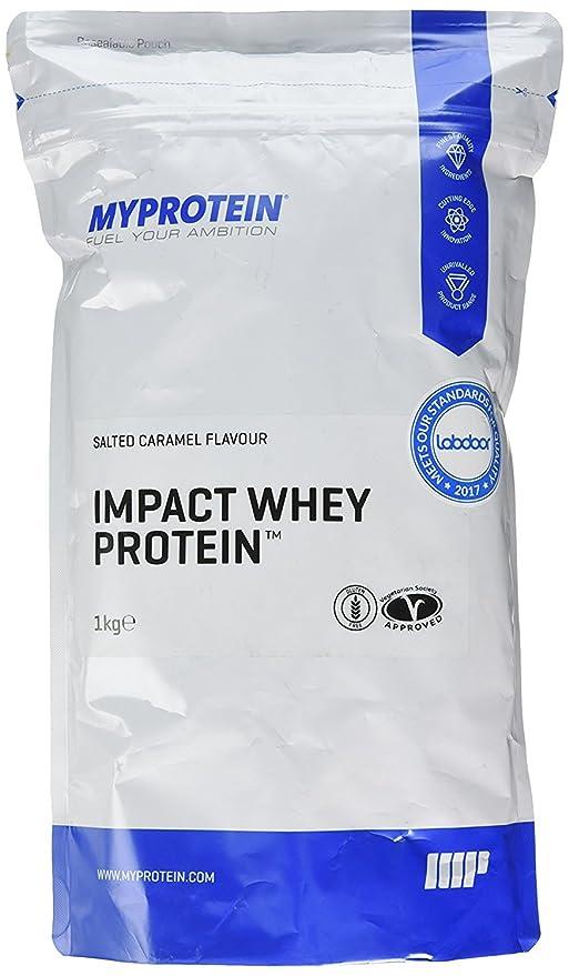 MyProtein Impact Whey Proteína de Suero, Sabor Caramelo Salado - 1000 gr