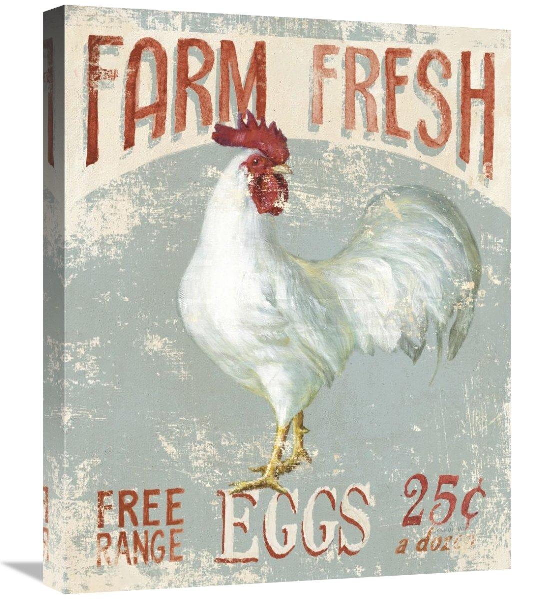 Farm Nostalgia III Giclee Stretched Canvas Artwork 20 x 24 Global Gallery Danhui NAI