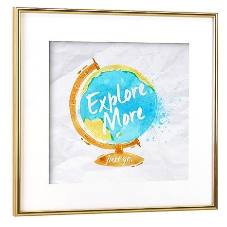 artboxONE poster con cornice kartografie \