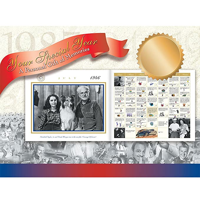 NEW Year 1950 Time Passages Commemorative Year In Review Gift Of Memories