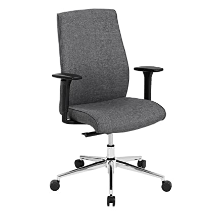 Excellent Songmics Fabric Swivel Office Chair With Lockable Reclining Theyellowbook Wood Chair Design Ideas Theyellowbookinfo