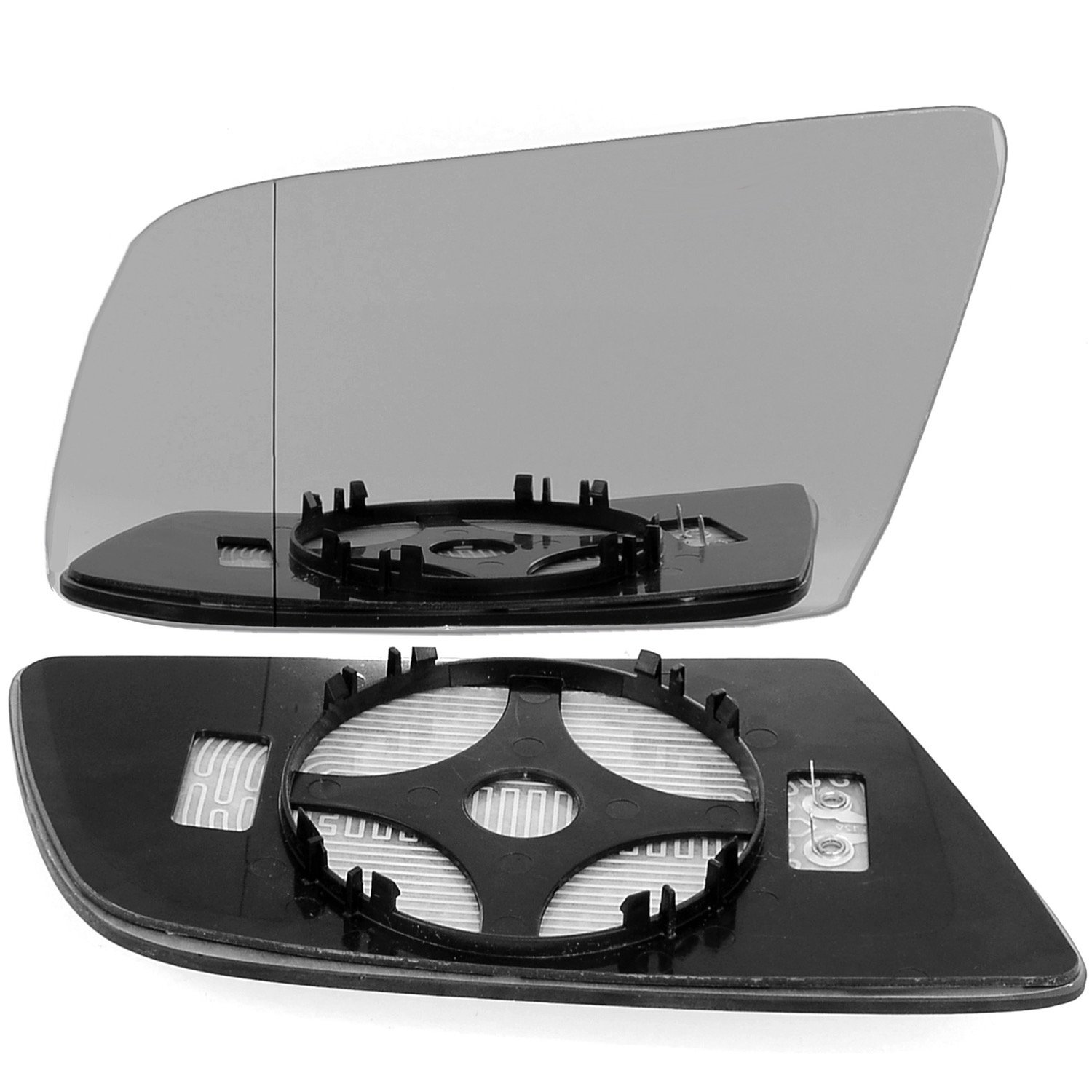 Left passegner side wing door clip mirror glass E60 E61 E63 E64 Wide Angle Heated # BME60/HY0-2010793/590 Less4Spares