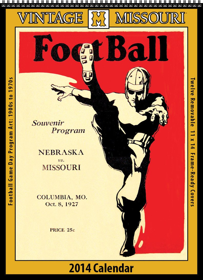 Missouri Tigers 2014 Vintage Football Calendar: Asgard Press:  9781603688499: Amazon.com: Books