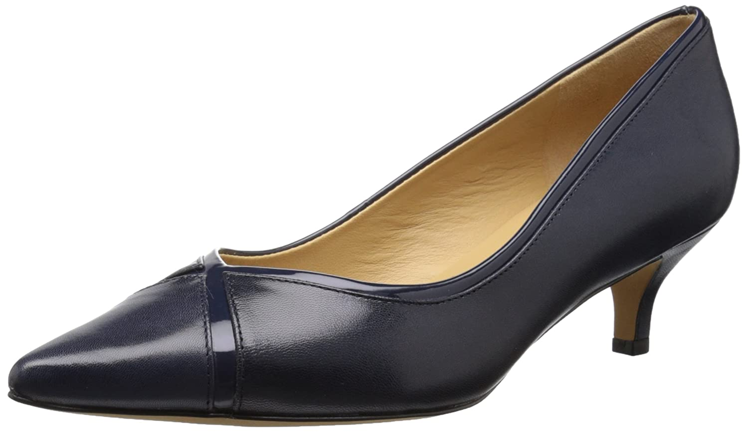 Trotters Women's Kelsey Dress Pump B011EZH3RW 9 W US|Navy