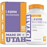 L-Arginine Nitric Oxide Booster - Best Muscle Growth Formula With Essential Amino Acids To Build Muscle And Increase…