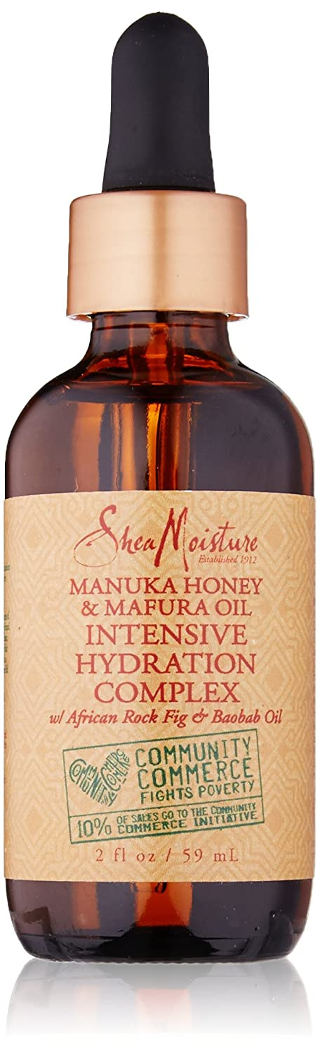 SheaMoisture Manuka Honey & Mafura Oil Intensive Hydration Complex for Dry Hair, 2 Oz 0764302231073