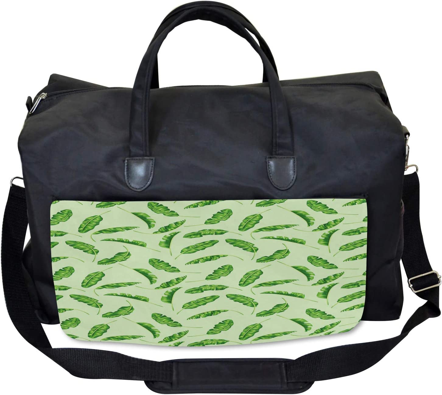 Oceanic Climate Palms Ambesonne Jungle Gym Bag Large Weekender Carry-on