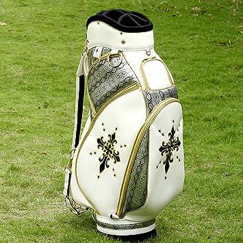 ZXX Bolsa de Golf Blanca Hombres y Mujeres Bracket Gun Bag ...