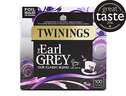 Twinings Earl Grey Tea Bags 100 per pack