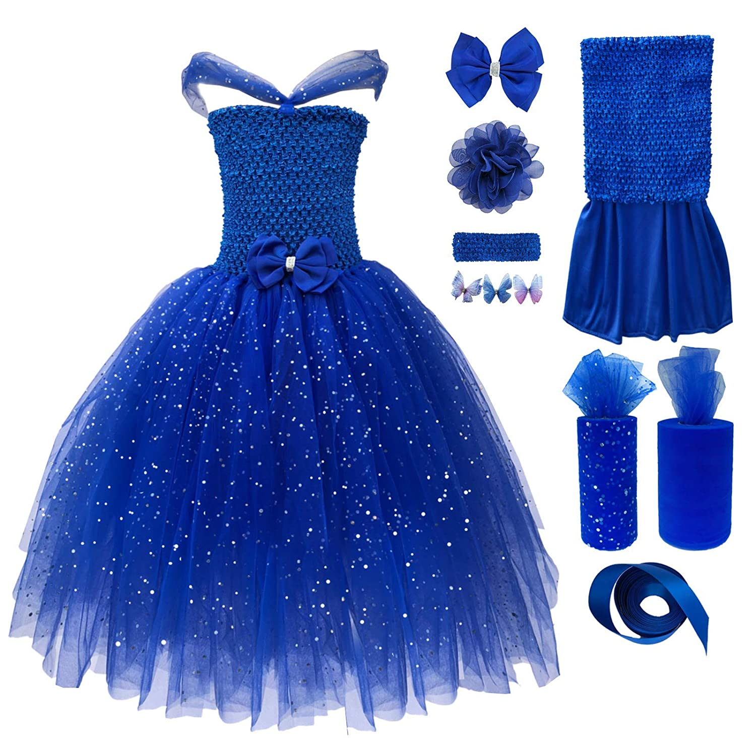 bf349c9efd6 There are finished dress and DIY package for you to choose. Each finished  Princess Tutu dress set includes 1 dress