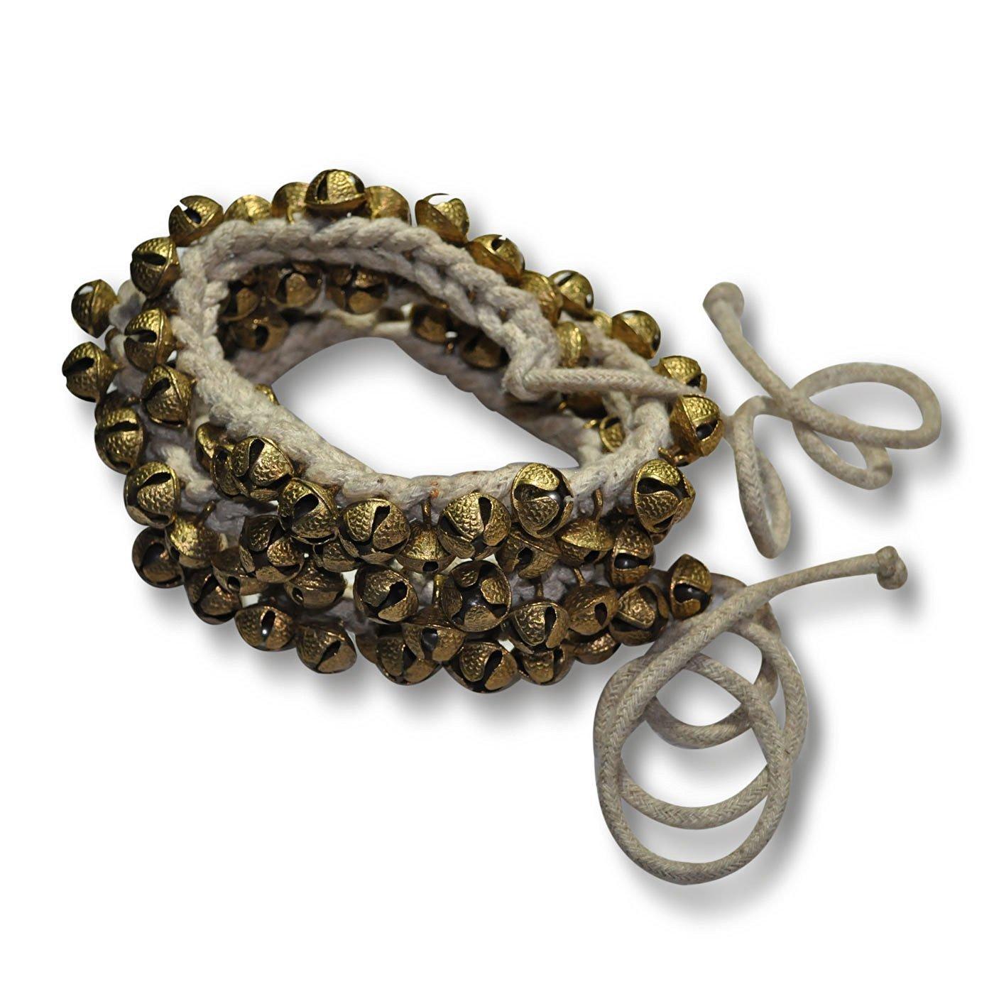 Ghungroo 75 Bell Pair 1.6 Cm, Kathak Ghungru 75 Dancing Bells Anklets Ghungroo Kathak anklet women dance accessories