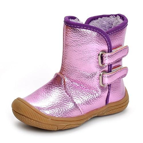zapatos de separación aa41f 0baed Estamico Botas de Nieve para Invierno de Suela de Goma para Niñas Niños  Pequeñas