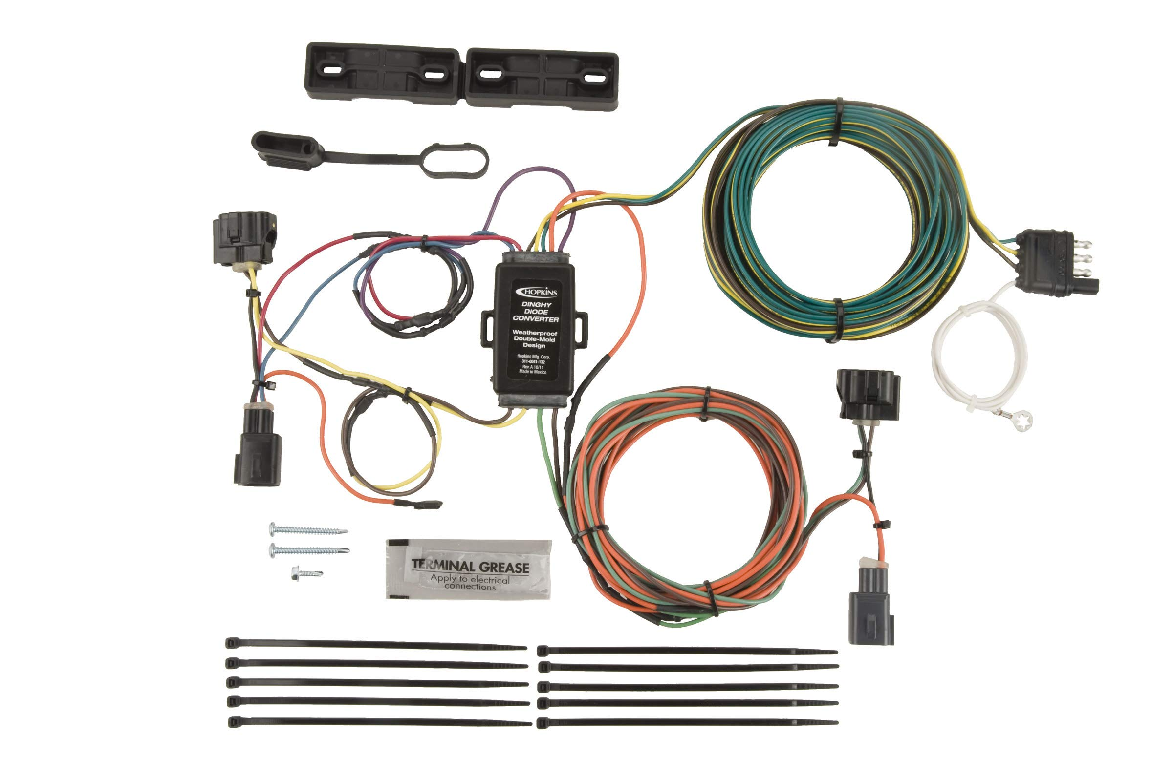 Hopkins 56202 Plug-In Simple Towed Vehicle Wiring Kit by Hopkins Towing Solutions