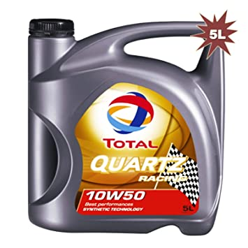 Total Quartz Racing 10 W-50 Aceite de motor 5 L