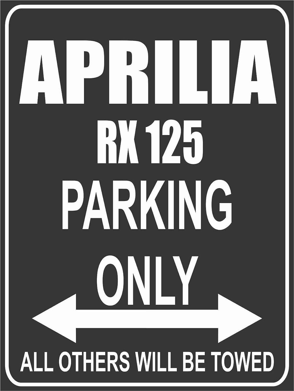 Parking Only Parkplatz Aprilia RX 125 Parkplatzschild