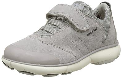 Geox , Sneaker Bambino, Grigio (Grigio), 27 EU: Amazon.it