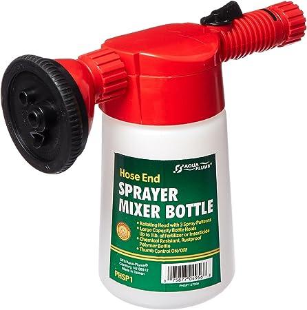 Amazon Com Aqua Plumb Hose End Sprayer Mixer Bottle Lawn And