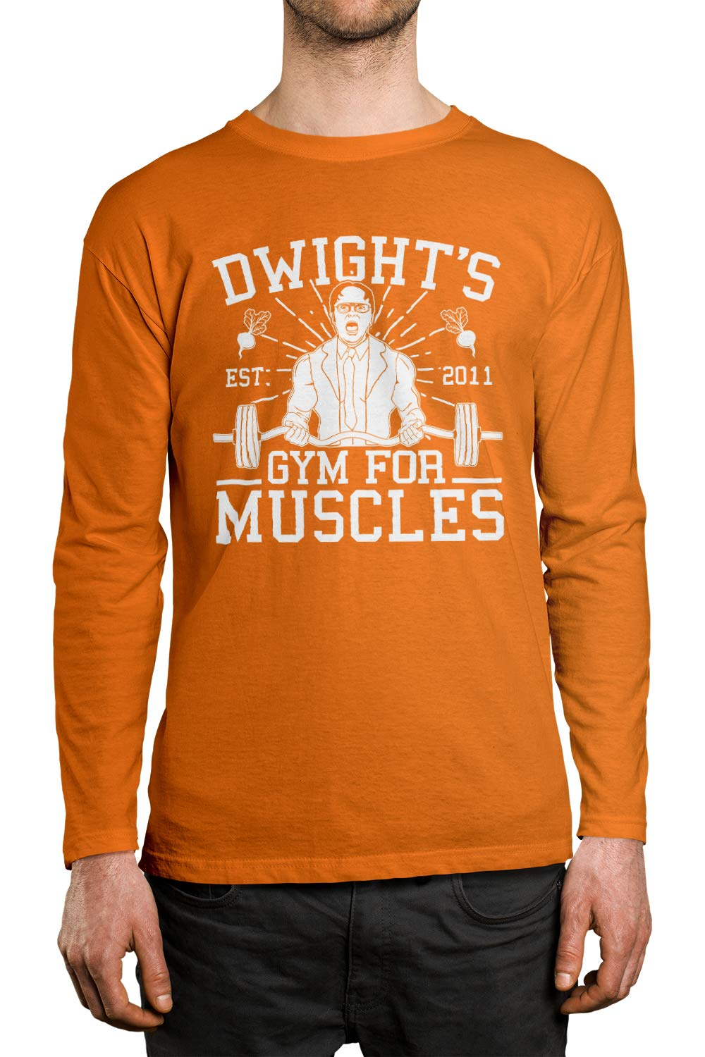 Apparel Dwight S Gym For Muscles Unisex Shirt