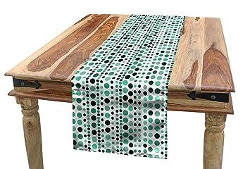 Admirable Amazon Com Ambesonne Modern Table Runner Retro 60S 70S Pdpeps Interior Chair Design Pdpepsorg