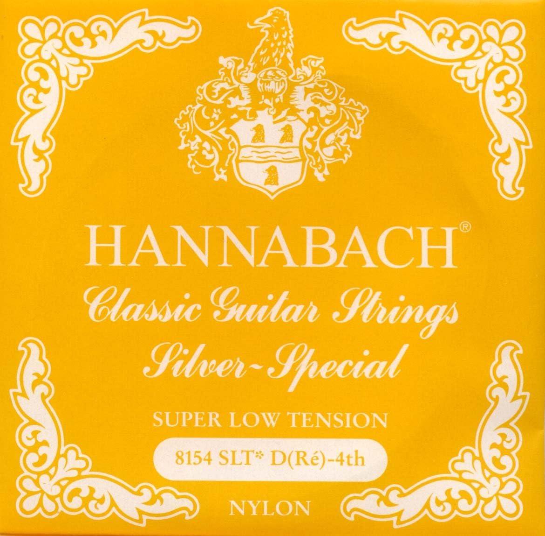 Hannabach Cuerdas para guitarra clásica Serie 815, Plateado ...