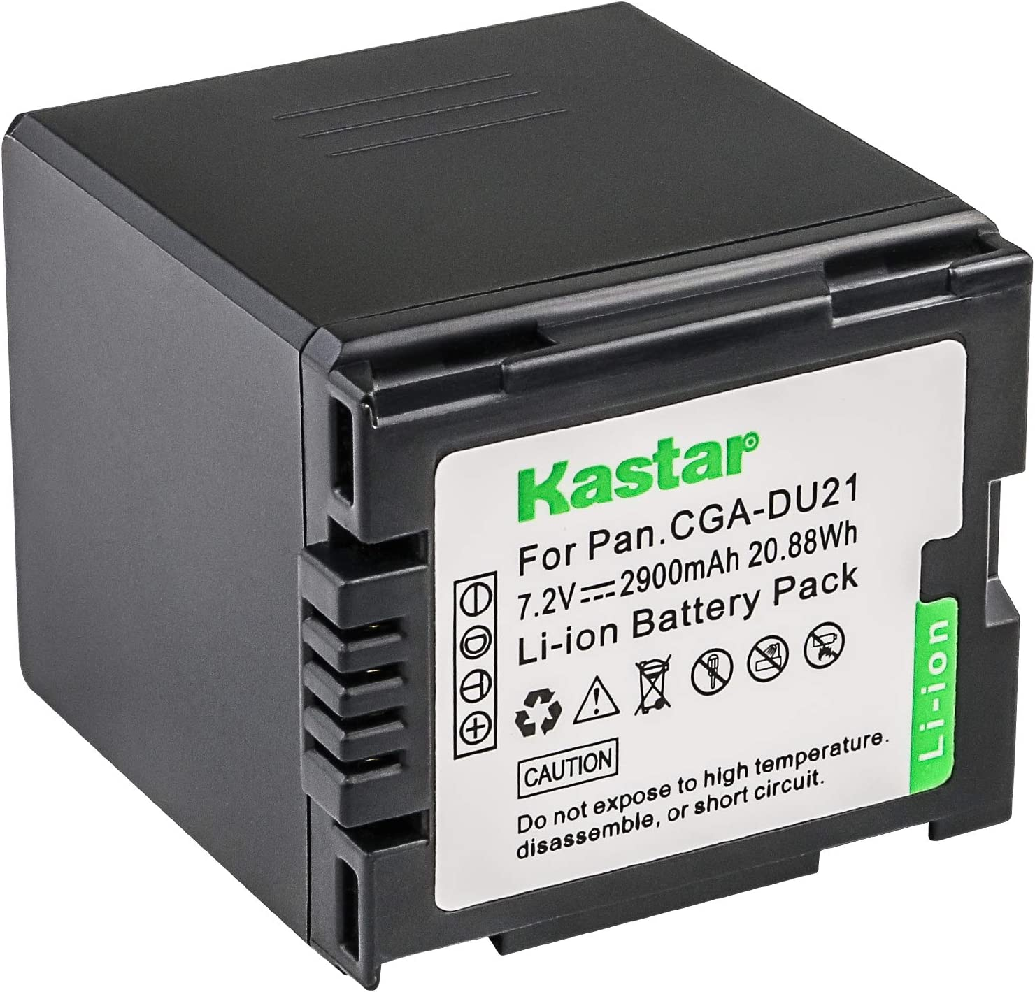 CGA-DU07 Battery Charger For Panasonic Lumix NV-GS27 NV-GS28 NV-GS30 NV-GS33
