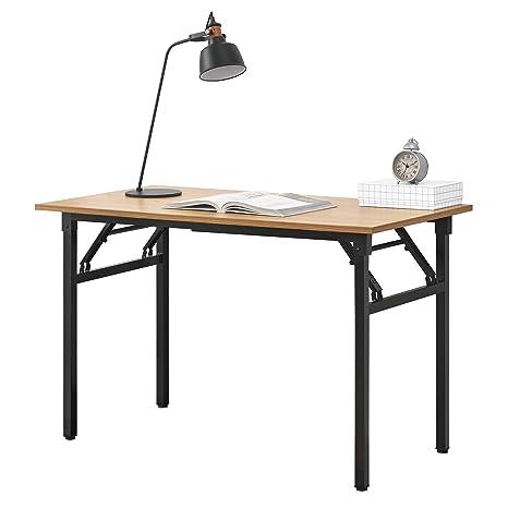 Tisch Klappbar.Neu Haus Klapptisch 120 X 60 X 75 76 4cm Schreibtisch Bürotisch Computertisch Tisch Klappbar Buche Schwarz