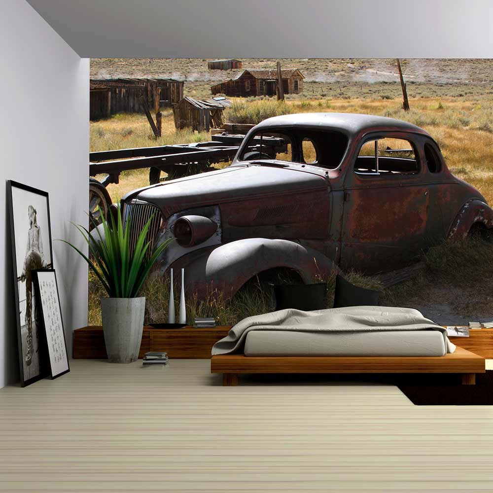 wall26 com art prints framed art canvas prints greeting wall26 1937 chevy without wheels abandoned in the desert removable wall mural self adhesive large wallpaper 100x144 inches