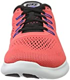Nike Free RN Mens Red Textile Athletic Lace Up