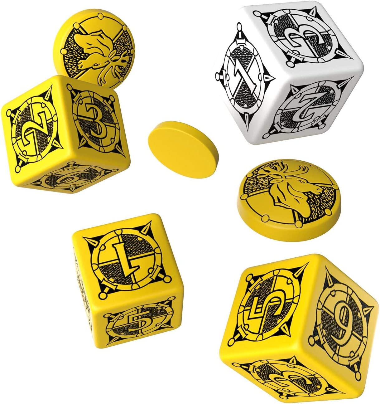 Q-workshop - Juego de fichas (SKIN13) [Importado]: Amazon.es: Juguetes y juegos