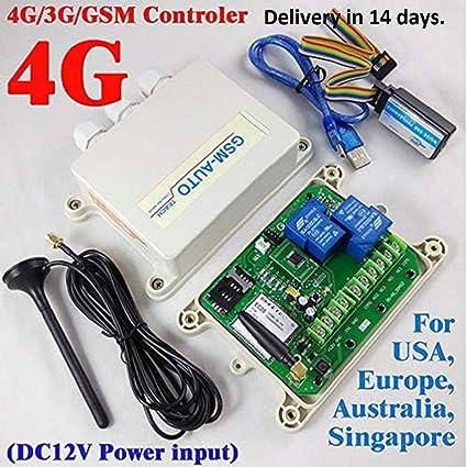 Sistema de Alarma de Seguridad - 3G/4G/GSM Control Remoto de ...