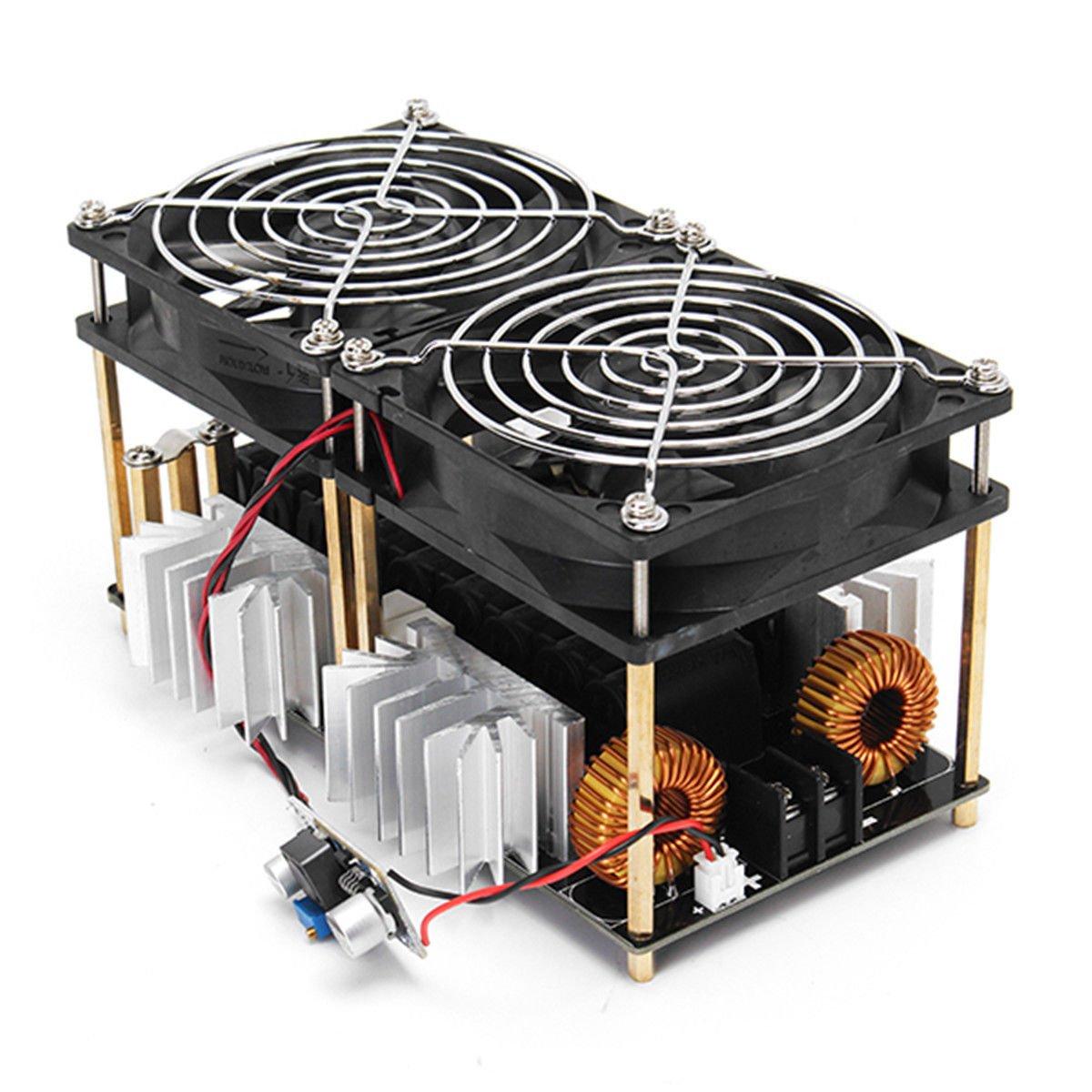 Toogoo 1800w Zvs Induction Heating Board Module Flyback Driver Transformer Tesla Coil On Heater Schematic Diagram Fan