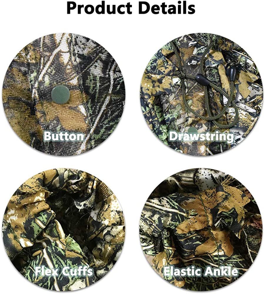 Camouflage Pour Tir /& Wildlife Photography Menimal 3 homme chasse Hub aveugle