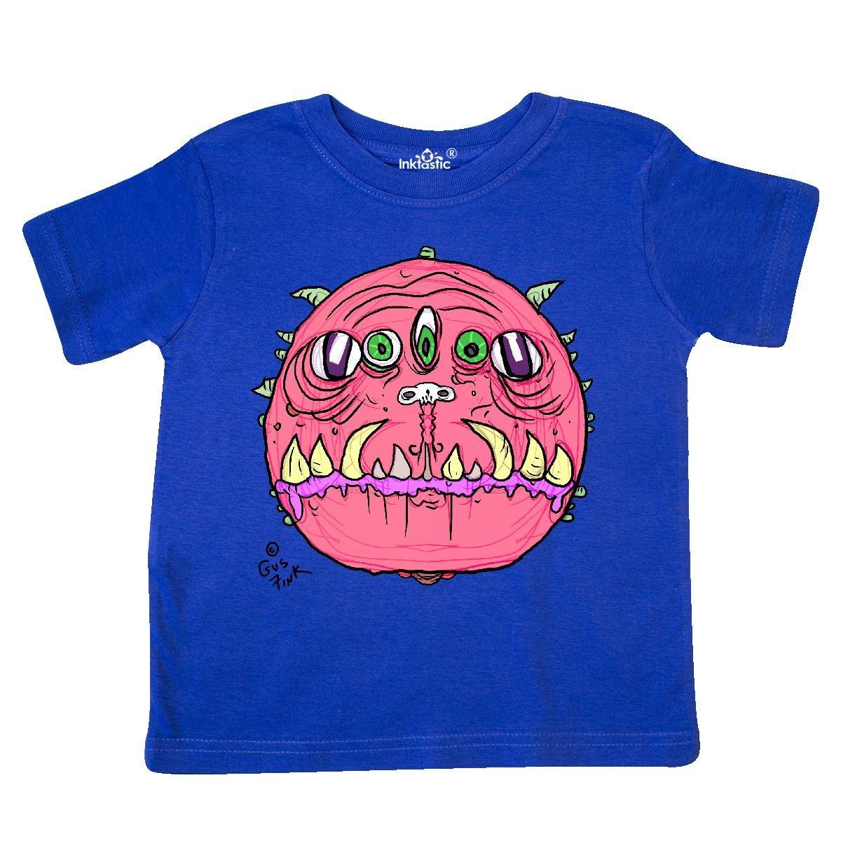 inktastic Pink Bore Toddler T-Shirt Gus Fink Studios