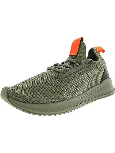 6e4060d13d3ed2 Puma Men s Avid Fof Light Wreath Black Sharp Orange Ankle-High Running Shoe  -