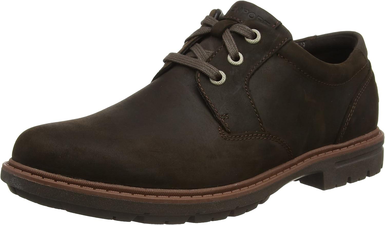 Rockport Tough Bucks Plain Toe Oxford 2, Zapatos de Cordones Hombre