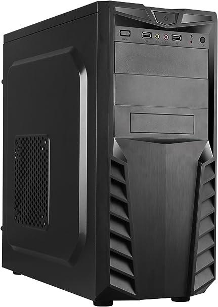 CoolBox PCA-APC33-1 Torre 500W Negro Carcasa de Ordenador - Caja ...