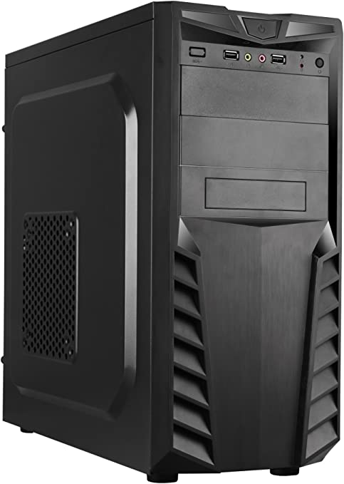 CoolBox PCA-APC33-1 Torre 500W Negro Carcasa de Ordenador - Caja de Ordenador (Torre, PC, ATX, Negro, Juego, 500 W): Amazon.es: Informática