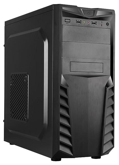 CoolBox PCA-APC33-1 Torre 500W Negro Carcasa de Ordenador ...