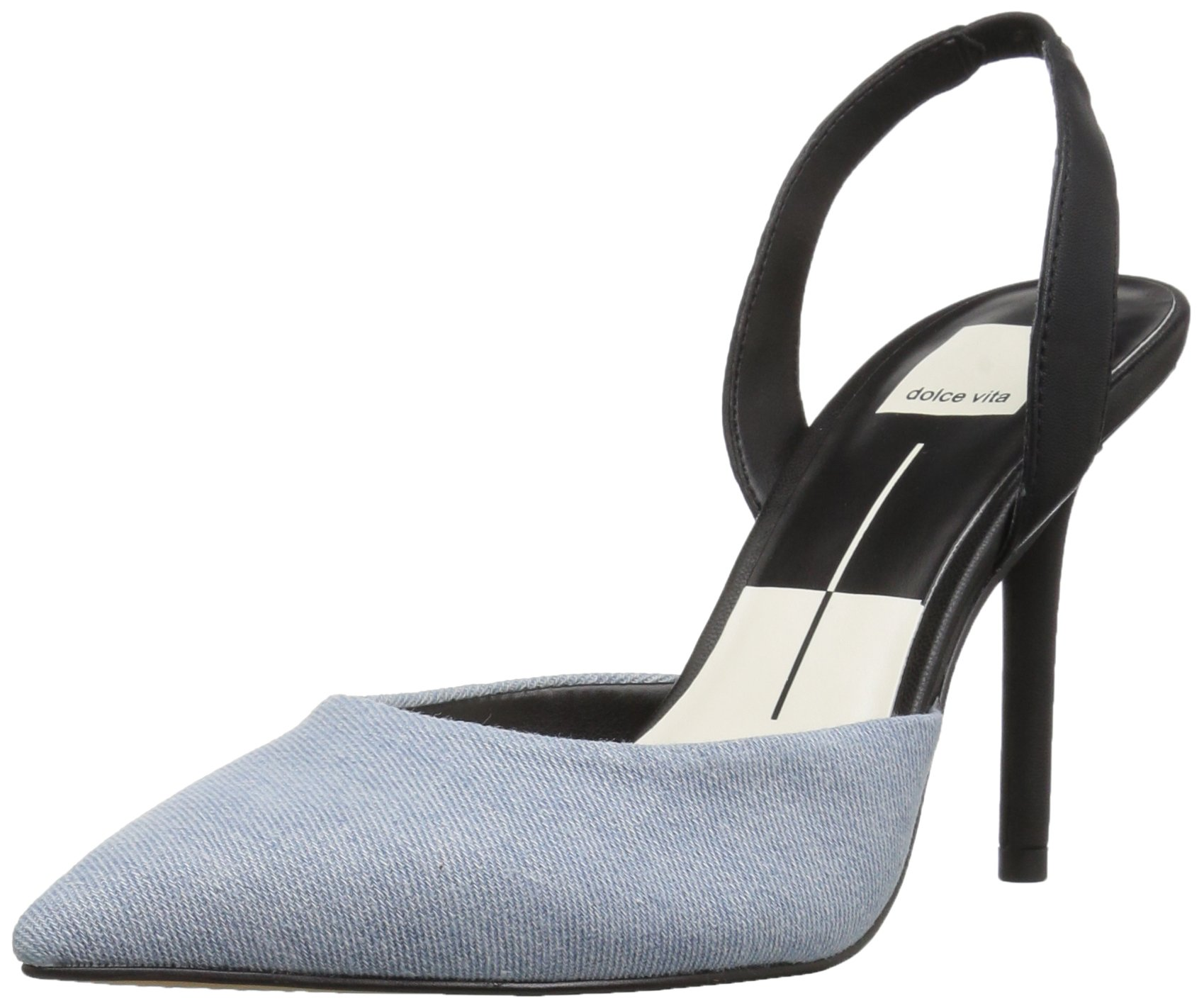 Dolce Vita Women's Maureen Pump, Light Blue Denim, 10 Medium US