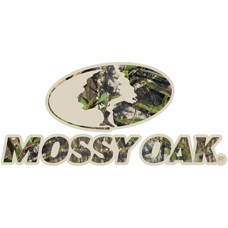 Mossy Oak Graphics 13006-OB-S Obsession 3 x 7 Camo Mossy Oak Logo Decal