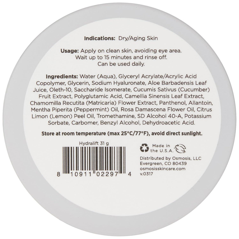 Osmosis Skincare Hydralift Firming Gel Mask, 1.09 oz