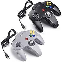 2x Retro 64-bit N64 USB Controller Gamepad Joystick
