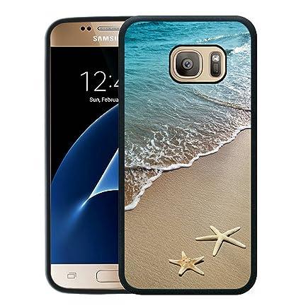 Amazon.com: Galaxy S7 caso, S7 CASE, cerrar la puerta Negro ...