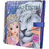 Crea Tu Fantasy Model and Friends Para colorear Libro Con Scratch Pegatinas