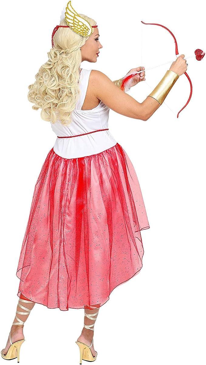 Costume Carnevale Donna Abito Cupido San Valentino PS 05104